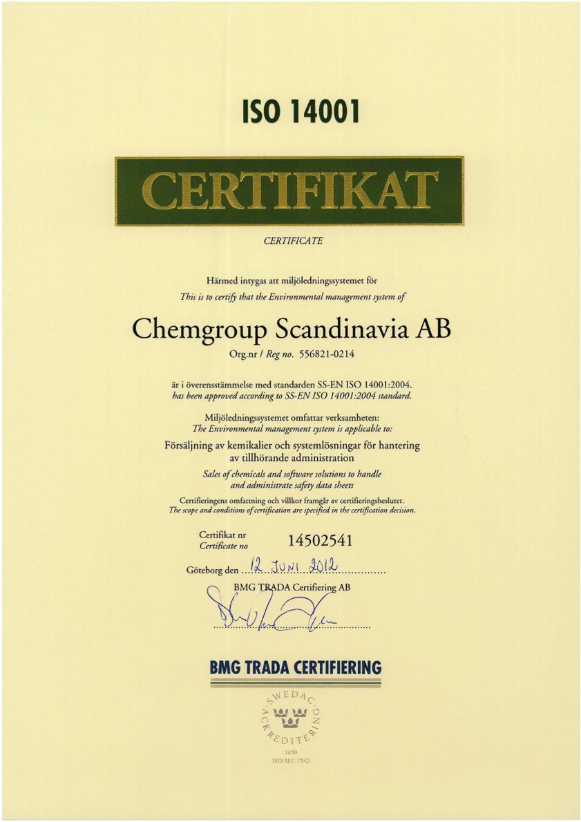 Chemgroup_Scandinavia_AB_14001